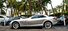 Mercedes SLR spotted in Miami, Florida