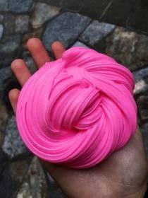 Slime Fluffy + Glitter - Tamanho Mega - R$ 55,00