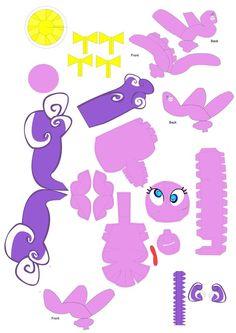 Screwball papercraft pattern by Blubaxp