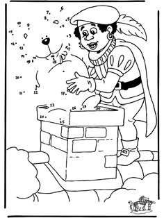 Cijfertekening Sint Diy For Kids, Coloring Pages, Connect The Dots, Advent Calenders, Pages To Color, Colouring Pages, Kids Coloring, Colouring Sheets, Coloring Books
