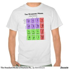 O modelo padrão do T da física de partícula T-shirts