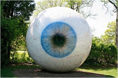 Laumeier Sculpture Park  This is an outdoor sculpture park, and has lots of large art to enjoy. Don't miss the giant eyeball! It is a great place for a walk.