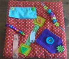Small Fidget Quilt Sensory Blanket for Alzheimer's, Dementia, Stroke ...