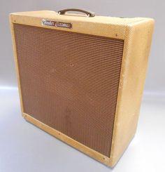 VINTAGE 1958 FENDER TWEED BASSMAN 5F6-A ELECTRIC GUITAR TUBE AMPLIFIER AMP (@ $3,700)
