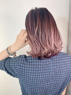 Pastel Purple Hair, Lavender Hair Colors, Light Pink Hair, Ombre Hair Color, Shot Hair Styles, Long Hair Styles, Purple Hair Highlights, Great Hair, Fall Hair