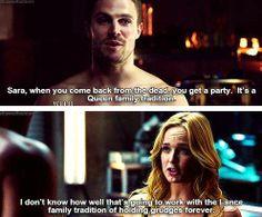 Arrow - Oliver & Sara #2.14 #Season2