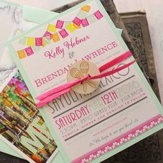 This listing is for a DESIGN FEE to start the process of personalizing your own custom wedding stationery - designed, printed and assembled by us!