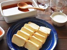 こちらは、卵黄入りの味噌に漬けたもの。より濃厚な味が楽しめそう。ほんとうにチーズかバターのように見えますね。