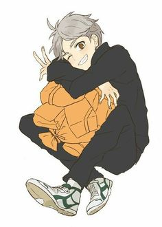 sticker by Discover all images by Find more awesome stickers images on PicsArt. Sugawara Haikyuu, Daisuga, Haikyuu Fanart, Kenma, Haikyuu Anime, Fanarts Anime, Anime Characters, Hinata, Volleyball Anime