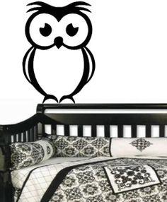 VINYL DECAL OWL TYPE 2 WALL ART STICKER