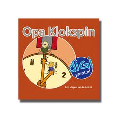 Miniboekje - Opa Klokspin http://onderwijsstudio.nl/product/miniboekje-opa-klokspin/