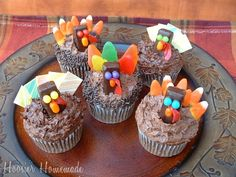 Turkey Cupcakes / many different ways