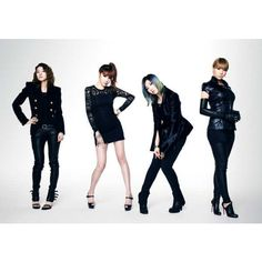 "Ask Fashion Coordi: How ""The Heirs"" Stars And 2NE1 Wear Black For A... via Polyvore"