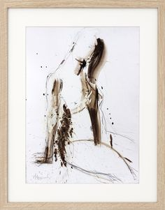 Abstract Original Sketch, Modern drawing, Nude Sketch, Mixed media, Wall art decor, Nude Woman, Graphic art, Charcoal artwork, Female Figure by IvMarART on Etsy