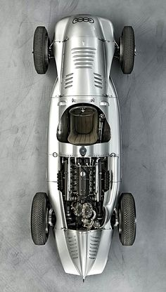 1938 Auto Union Type D | Grand Prix Racing Car | 3.0L V12 478hp | Top Speed 340 kph 211 mph Auto Union Grand Prix Racing Car | 1933 - 1939 | The race cars were developed and built by the r Racing Department of Auto Union's Horch Works in Zwickau,...