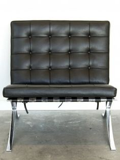 Ludwig Mies Van Der ROHE (1886  1969) Knoll Pair Of Barcelona Chair,