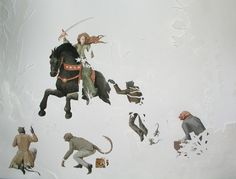 Vanni Cuoghi-Pro-cessione,2010  Acquarelli su carta / watercolour on paper, 39 x 50 cm
