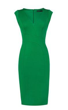 Structured Pencil Dress | Luxury Women's new-in_garments | Karen Millen