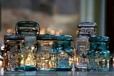 Old School Mason Jars.