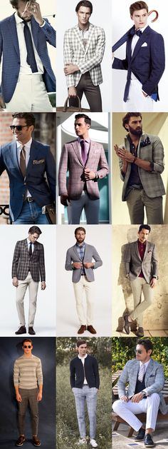 Boost Your 2014 Spring/Summer Style with Lighter Plaid in Trousers/Waistcoat/Blazer, Lookbook Inspiration