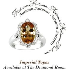 """Imperial Topaz - Eichhorn Gems"" by the-diamond-room on Polyvore"