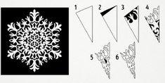 Végy egy papírlapot, ollót és ezt a másolómintát... Biztos vagyok benne, hogy egy órán belül kétségtelenül újévi hangulatod lesz! - Bidista.com - A TippLista! Christmas Crafts For Toddlers, Toddler Crafts, Snowflake Template, Arts And Crafts, Paper Crafts, Christmas Decorations, Christmas Ornaments, Preschool Activities, Happy New Year