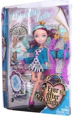 NEW DOLL EVER AFTER HIGH MADDELINE HATTER getting fairest