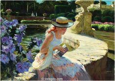 """""""In the Parc"""" by Vladimir Volegov"""