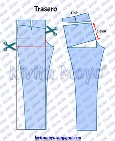alterations - Her Crochet Sewing Pants, Sewing Clothes, Diy Clothes, Techniques Couture, Sewing Techniques, Jumpsuit Pattern, Pants Pattern, Denim Crafts, Nursing Clothes