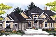 Houseplans.com Front Elevation Plan #70-849