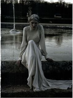 """Marie Piovesan in """"Valentino Haute Couture spring/summer 2012"""" by Deborah Tuberville for Vogue Italia March 2012"""