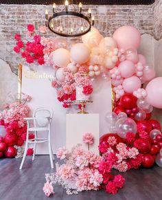 Balloon Backdrop, Photo Booth Backdrop, Balloon Garland, Balloons, Balloon Ideas, Ballon Decorations, Birthday Goals, Happy Birthday, Minnie