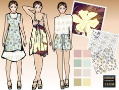 computer aided fashion illustration, fashion croquis