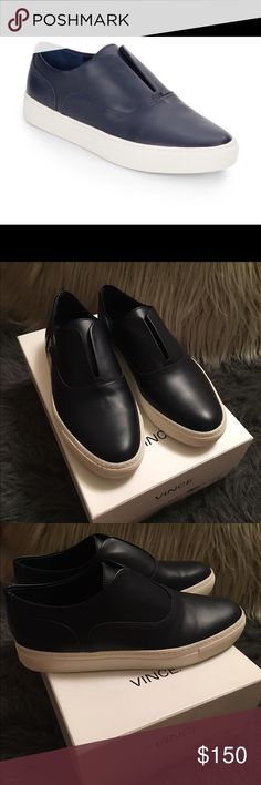 Black dress shoes size 7 vince