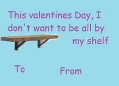 Valentines day cards- furniture