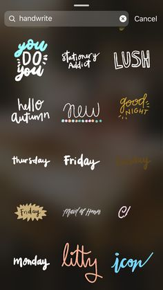 GIFs - Keyword: handwrite - - Best of Wallpapers for Andriod and ios Blog Instagram, Instagram Editing Apps, Creative Instagram Stories, Instagram And Snapchat, Instagram Story Ideas, Instagram Quotes, Citations Instagram, Snapchat Stickers, Insta Photo Ideas