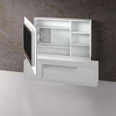 Panel TV giratorio 1524 abierto