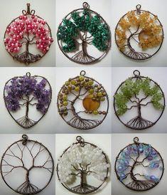 Tree of Life Pendant Collage by Pinkfirefly135.deviantart.com on @DeviantArt