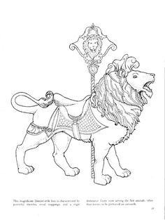 Carousel Animals coloring book - bobogirl Vah - Picasa Web Albums