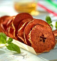 Jabłkowe chipsy z cynamonem #lidl #przepis #jablko #chipsy #cynamon
