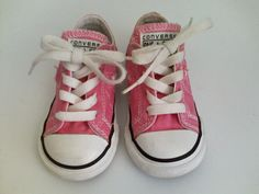 ef34fc48973359 CONVERSE One Star Size 6 PINK Sneakers Shoes Toddler Girl s Low Top Laces  Cute!  fashion  clothing  shoes  accessories  babytoddlerclothing  babyshoes  (ebay ...