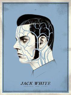 Justin Erickson Jack White Prague Poster Release Details