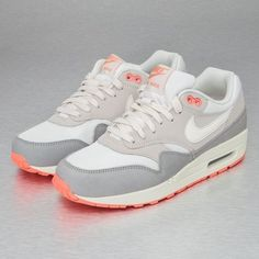 Womens Nike Air Max 1 Retro Sport Red White