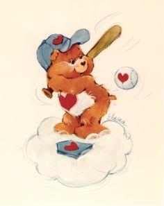 Tenderheart Bear-was my favorite teddy bear!