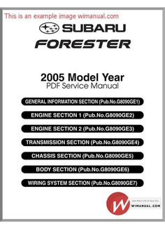 subaru forester 1998 2002 oem service repair manual download rh pinterest co uk subaru forester 1999 service manual download 1999 subaru forester service manual pdf
