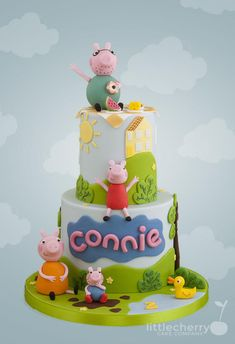 Peppa Pig Cake - Cake by Little Cherry