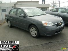 matte gray m detective bkft w gang chevy sedan gray | 2007 Dark Gray Metallic Chevrolet Malibu LT Sedan ...