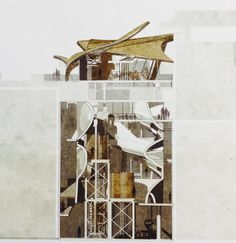 Architectural drawings by students at Westminster University