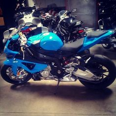 Liking the new color for the S1000RR #bmw #s1000rr #motorcycle (Taken with Instagram)  #bmw #motorcycle