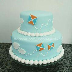 Kite cake Bolo pipa